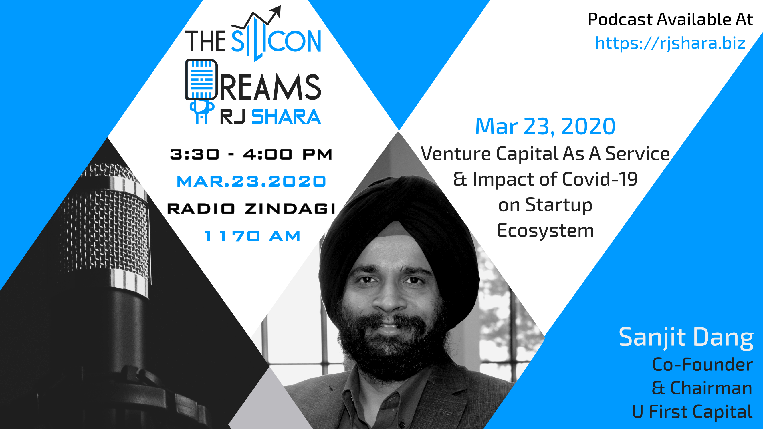 Dr. Sanjit Dang on The Silicon Dream discussing venture capital as a service
